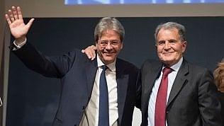"""Prodi sceglie """"Insieme"""" e investe Gentiloni: 'Con lui Paese più forte' video"""