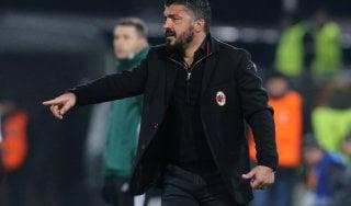 """Milan, Gattuso: """"Con la Samp gara complessa, non possiamo sbagliare"""""""