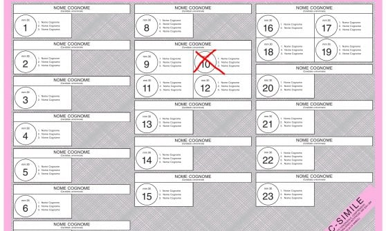 Elezioni 4 marzo, ecco le schede elettorali a Marsciano