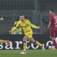 Chievo-Cagliari 2-1: Giaccherini e Inglese rialzano i gialloblu