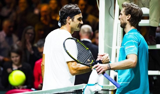 """Tennis, Rotterdam: """"re"""" Federer impone l'alt a Seppi in semifinale, sfiderà Dimitrov"""