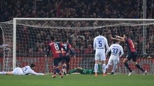 L'Inter perde il terzo postoIl Genoa domina: finisce 2-0
