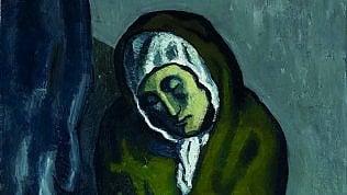 Il Picasso sotto il Picassosvelato da un'italiana coi raggi X
