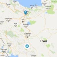 Iran, precipita aereo con 66 persone a bordo.