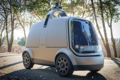 Auto a guida autonoma senza sedili: farà le commissioni al posto nostro