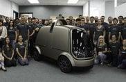 Nuro, l'auto a guida autonoma senza sedili