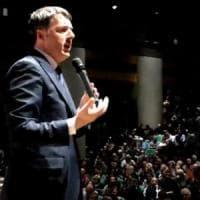 """Renzi, appello ai cattolici: """"Il centrodestra non è moderato. Mai governo con estremisti"""""""