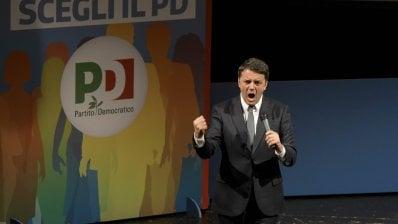 """Renzi dice no alle larghe intese: """"Mai al governo con gli estremisti"""""""