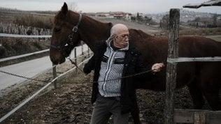 """Nelle Langhe il medico che si sposta a cavallo: """"Faccio prima, e a volte la presenza di un animale aiuta i malati"""" foto"""