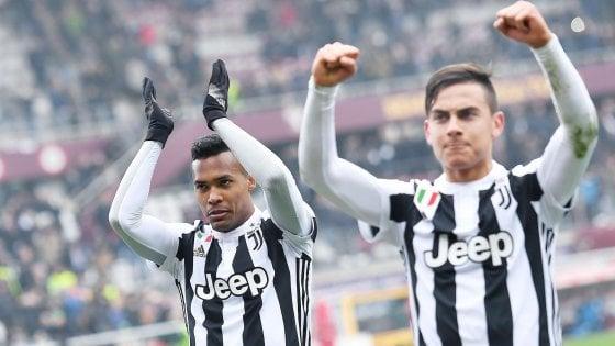 Torino-Juventus 0-1: Higuain subito ko, Sandro decide il derby