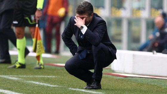 """Torino, Mazzarri: """"Noi grandi per un'ora e mezza, spiace per i tifosi"""""""