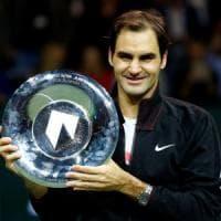 Tennis, Atp Rotterdam: trionfa Federer, Dimitrov si arrende al Re