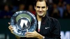 Atp Rotterdam: trionfa Federer, Dimitrov si arrende al Re