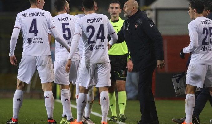 """Fiorentina, Pioli: """"Dovremmo essere settimi, non undicesimi"""""""