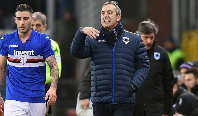 """Sampdoria, Giampaolo: """"Sconfitta meritata, il Milan è in grande forma"""""""