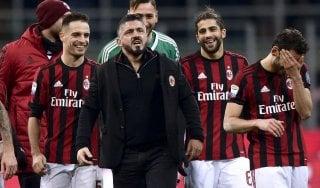 """Milan, Gattuso: """"Orgoglioso dei miei ragazzi. Io solo cuore e grinta? Chiacchiere da bar"""""""