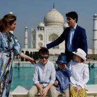 Trudeau prima visita ufficiale in India: con famiglia al Taj Mahal e nello Stato di Gujarat