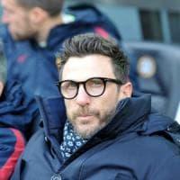 Roma, Di Francesco: ''Under non molli mai''. Tocca a lui anche in Champions