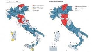 Collegi, il centrodestra fa il pieno: a Berlusconi mancano pochi seggi per governare