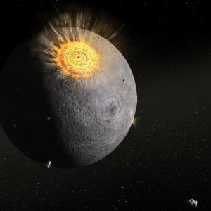 Gli asteroidi? Sono capsula del tempo della vita sulla Terra