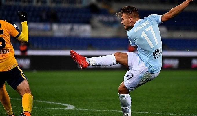 Doppio Immobile, Lazio torna a vincere: quarta