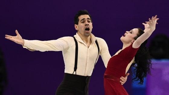 PyeongChang 2018, pattinaggio figura: la danza di Cappellini e Lanotte è sesta, oro al Canada