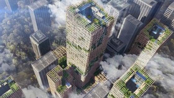 Tokyo, il grattacielo da record sarà di legno