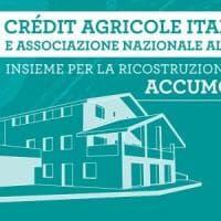 Credit Agricole, 300 mila euro per il rilancio di Accumoli
