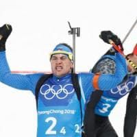PyeongChang 2018, biathlon: Italia di bronzo nella staffetta mista