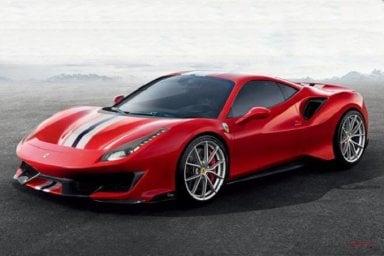 Ferrari 488 Pista, la Rossa di serie con aerodinamica da F1