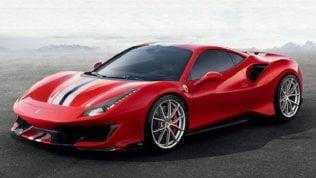 Svelata la Ferrari 488 Pista, auto di serie con aerodinamica da F1