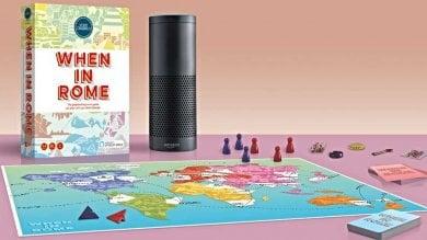Il gioco da tavolo con l'assistente  digitale: le domande le fa Alexa