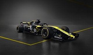 """F1, presentata la nuova Renault: """"Evoluzione e raffinatezza"""""""