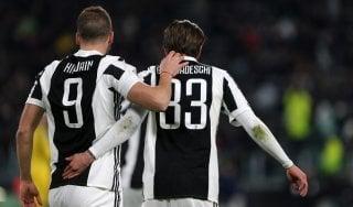 Juventus, per la doppia sfida all'Atalanta Bernardeschi non recupera, Higuain ci prova