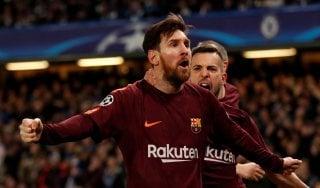 Champions, Chelsea-Barça 1-1: Messi rovina i piani di Conte