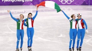 Fontana porta Italia sul podio, staffetta d'argento