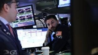 Borse europee in calo dopo il rosso di Wall Street