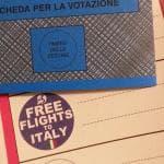 Free Flights to Italy, il mistero del partito fake ammesso alle elezioni