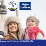 """Salvini, nei manifesti lo slogan """"Prima gli Italiani"""". Ma nelle foto ci sono cechi e..."""