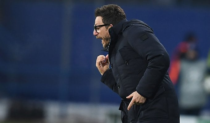 """Roma, Di Francesco: """"Un secondo tempo da dimenticare"""""""