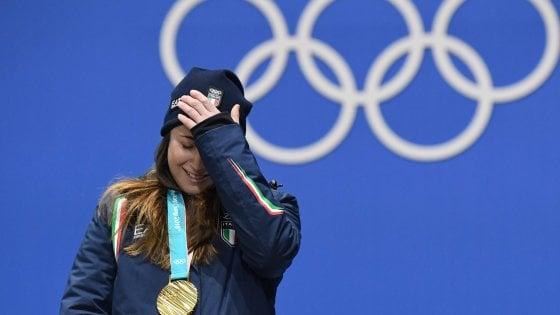 PyeongChang 2018, Sofia Goggia ancora euforica: ''Il mattino ha l'oro in bocca''