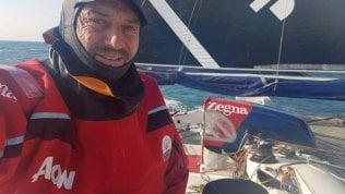 Giovanni Soldini nella Manica: