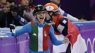 Short track, Fontana fail tris: bronzo nei 1000 metri e decima medaglia azzurra in Corea Foto
