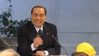 """Berlusconi: """"Salvini premier? Non è un violento, ma la Lega è a quattro punti da Forza Italia"""""""