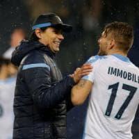 Lazio, Inzaghi felice: ''Bravi tutti, ora spero in un buon sorteggio''