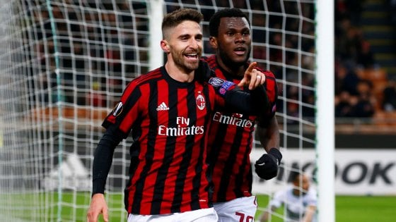Milan-Ludogorets 1-0, Borini mette il timbro sul pass per gli ottavi
