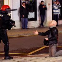 Europa League, scontri a Bilbao prima di Athletic Bilbao-Spartak: le immagini