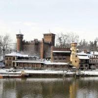 Maltempo, Nord Italia sotto la neve, spiagge imbiancate in Veneto, passi alpini chiusi in...