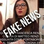 Renzi denuncia fake news contro di lui: