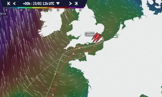 Traversata record per Soldini: Hong Kong-Londra in 36 giorni